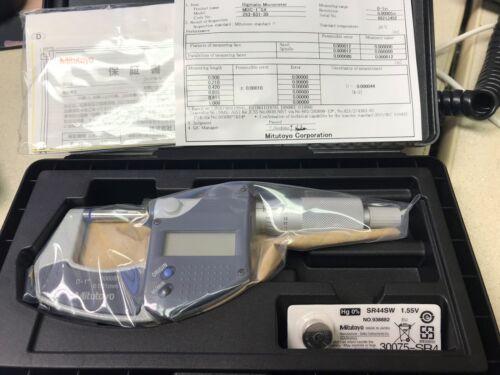 """Mitutoyo 293-831-30 0-1"""" Digimatic Micrometer MDC - LITE RATCHET, NO SPC, IP65"""