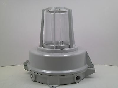 Azz Saf Hazardous Explosion Proof Light Lamp Florescent Industrial Saf42fu Mb