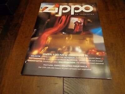 FULL SIZE ZIPPO LIGHTER CATALOG 1996 UNUSED
