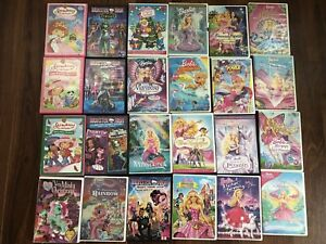 24 Children's Movies DVD's