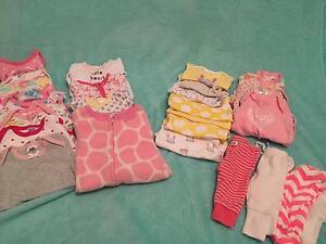 Newborn Girls Clothes 25 items Regents Park Auburn Area Preview