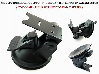 Super Grip Suction Cup Mount For The Beltronics & Escort Passport Radar Detector