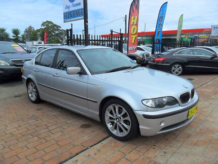 2003 BMW 325I AUTOMATIC SILVER 4D Sedan Lansvale Liverpool Area Preview