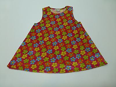 The Childrens Place Girls Size 6X-7 Floral Velour Tank Shirt Great Condition