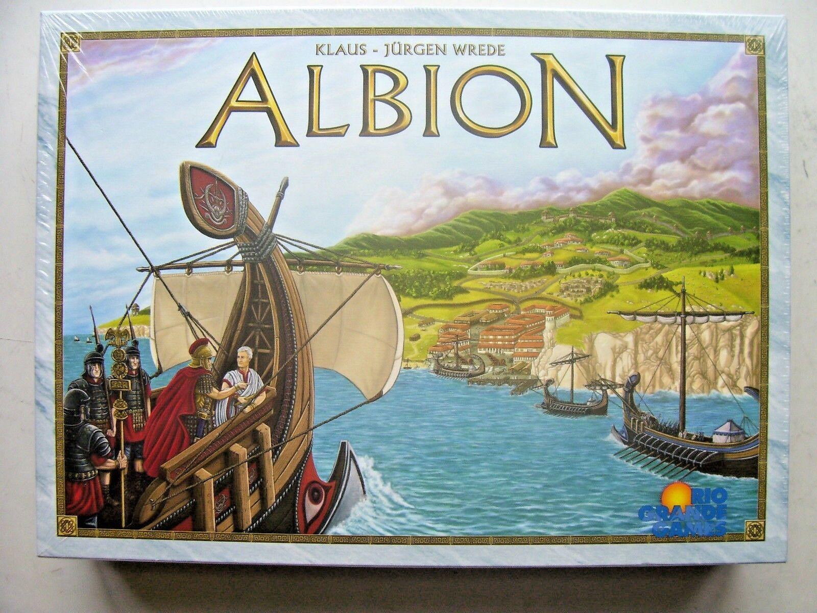 Albion Game Klaus - Jurgen Wrede  Rio Grande Games (New and Sealed)