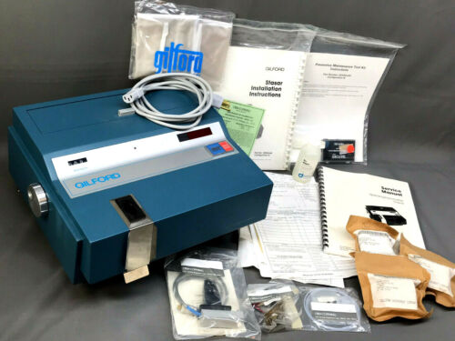 SPECTROPHOTOMETER Gilford Stasar III - Apparently N.O.S. - VTG MILITARY SURPLUS