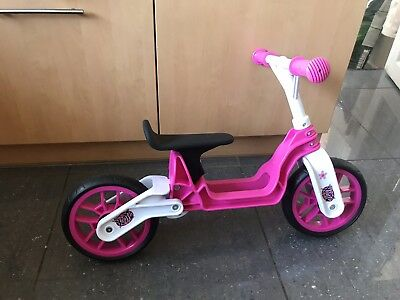 6c6d2dd4961 xootz scooter Balance Bike Pink Girls Toddler To 4 Years Strider Style  Bicycle