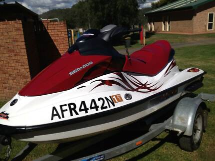 2008 GTI 130 MYO8  SEADOO JETSKI - ROTAX ENGINE Bow Bowing Campbelltown Area Preview