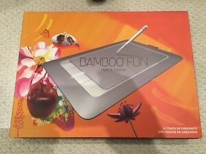 Wacom Bamboo Fun Pen and Touch Pad