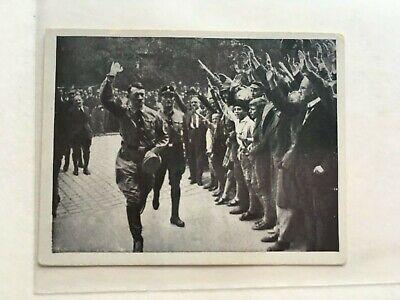 WWII Adolf Hitler Austria Tabakwerke Tobacco Card - Number 85