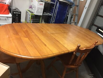 Big Solid Wood Table For Sale