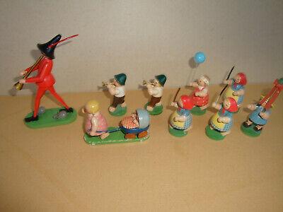 Wendt und Kühn Rattenfänger mit Gefolge , 9 Figuren online kaufen