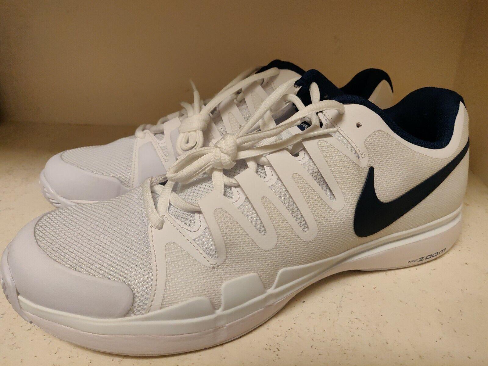 Nike  Men's  size 11.5 ZOOM Vapor 9.5 Tour   WHITE/BINARY BLUE 631458-104