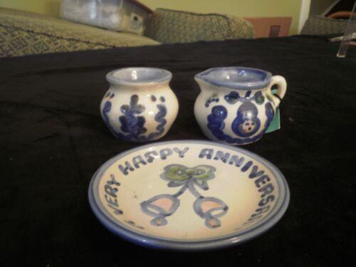 M A Hadley Pottery Pieces (3)