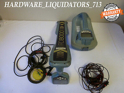 Spx Radiodetection Rd8000 Pdl Cablepipe Locator With Tx-10 Fast Shipping