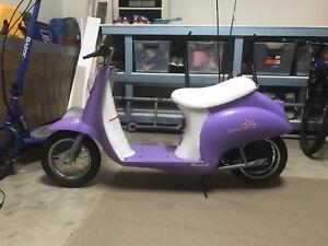 RAZOR toy electric scooter bike