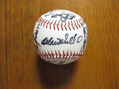 2007 Erie SeaWolves Signed Baseball(18 Signed-JAIR JURRJENS/MATT YOYCE/M WALBECK