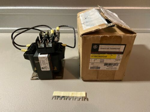 NEW IN BOX GENERAL ELECTRIC CORE AND COIL TRANSFORMER 9T58K2805G48