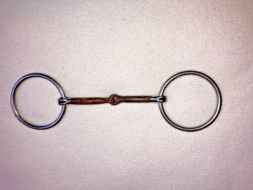 "Reinsman O-ring Sweet Iron Horse Pony Snaffle Bit- 4 3/4"""