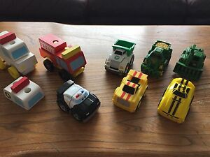 Assorted Toy Truck Lot