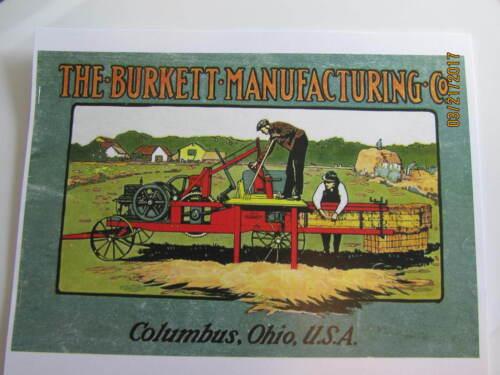 Burkett Manufacturing Gas Engine Hay Press Catalog