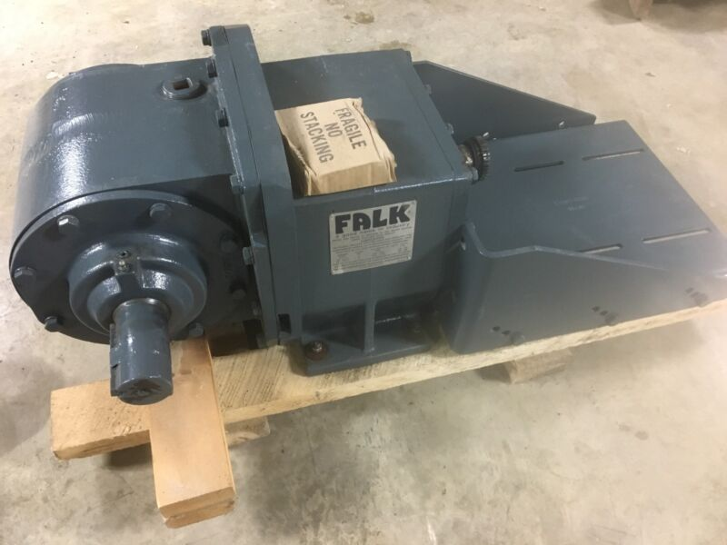 Falk Enclosed Gear Drive 1040FZB4A Ratio 58.380 : 1 Falk Gearbox Reducer UNUSED