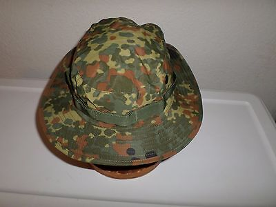 NEW GERMAN FLECKTARN CAMOUFLAGE TRILAM BOONIE HAT SIZE X- LARGE (German Hat)