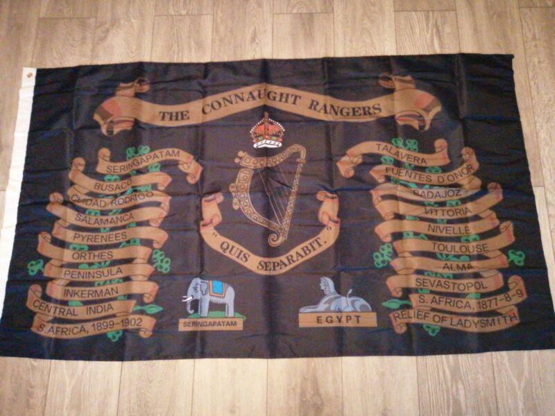 Connaught Rangers battle honours flag 5x3ft