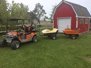 Golf cart trailers (Ski BoBs)