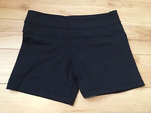 Size 6 Lululemon Groove Shorts (regular)