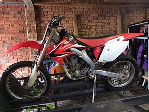 Honda CRF 250 X Mollymook Shoalhaven Area Preview