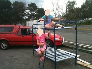 BUNK BED -STRONG POWDER COATED STEEL, but portable for camping. Mount Barker Mount Barker Area Preview