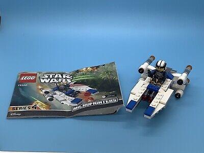 LEGO Star Wars U-Wing Microfighter 75160 Series 4 Used - 100% Complete & Clean