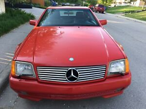 SELLING THIS AMAZING RED 1992 MERCEDES BENZ 500 Series