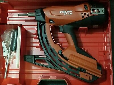 Hilti Gx 120 Nail Fastening Tool Brand New In Plastic Case.