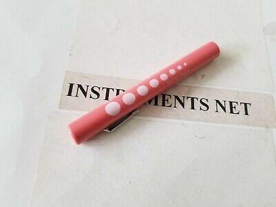 Pink Medical Pen Light Penlight Led With Pupil Gauge New Emt Ems Penlight