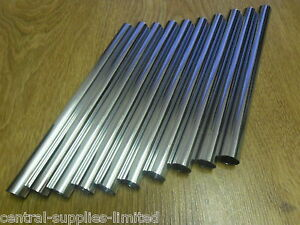 10 X 15mm NEW CHROME RADSNAPS RADIATOR PIPE COVERS - FREE UK DELIVERY