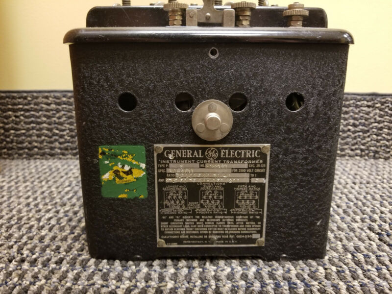 GE General Electric Instrument Current Transformer 8083192