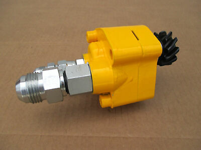Hydraulic Pump Early Style For Ih International 154 Cub Lo-boy