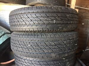 215/70R16 tires - set of 4