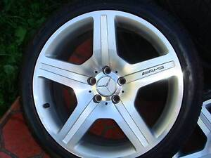 "Set Of 19"" Genuine Mercedes Benz AMG Rims 5 Stud x 112 Pattern ! Green Valley Liverpool Area Preview"