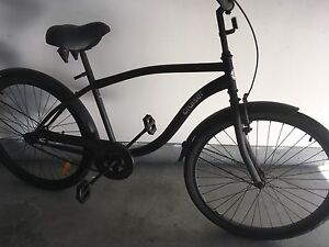 Cool black cruiser bike. Lakelands Lake Macquarie Area Preview