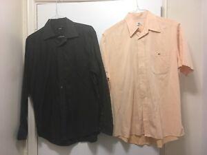 Chemises Hugo boss / Lacoste 12$ chaque