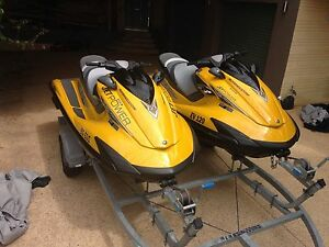 Twin Yamaha FZS SHO High Output on double trailer Golden Bay Rockingham Area Preview