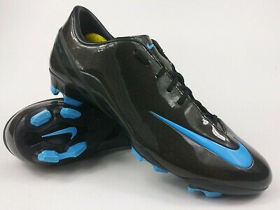 9bdcfaada Nike Men Rare Talaria IV FG 317766-041 Black Blue Soccer Cleats Football  Size 12
