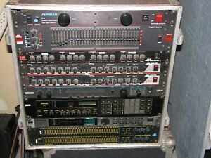 Effects Processors Equalizers EQ reverb delay Rack Mount