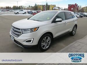 2017 Ford Edge Titanium 3.5L TI-VCT V6 Engine, Canadian Touri...