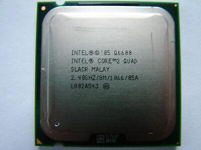 Intel Core 2 Quad Q6600  Prozessor 4 x 2.4 GHz 1066 MHz LGA 775 Sockel
