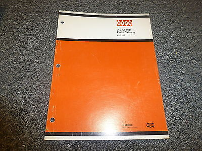 Case 96l 96 L Front End Wheel Loader Tractor Part Catalog Manual 8-2890