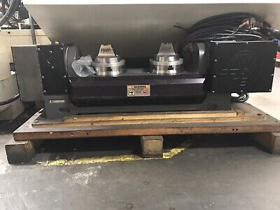 Haas Tr-160-2 Doulble Header Rotary Table Indexer 4th 5th Axis